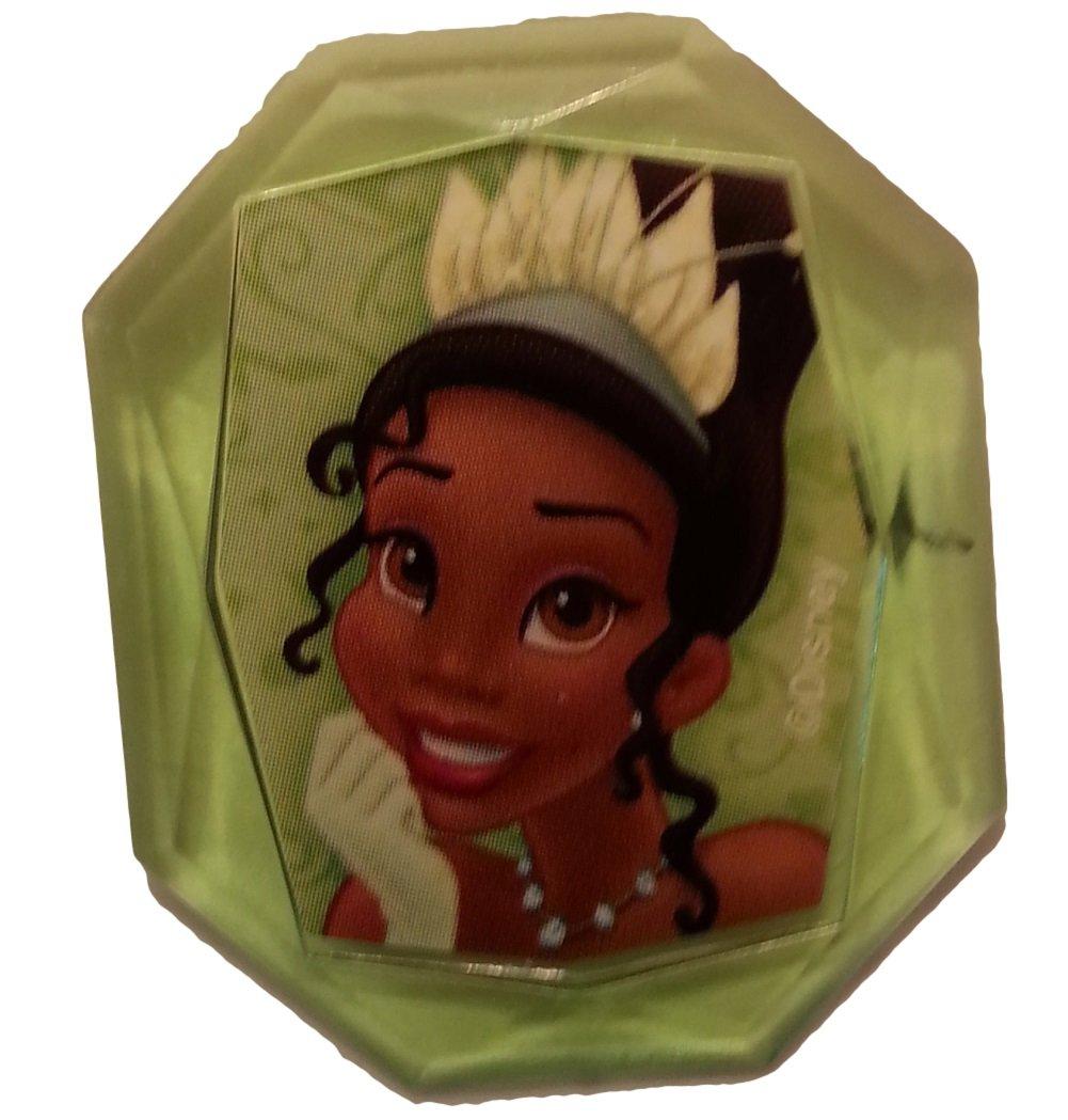 Disney Princess Gemstone Cupcake Topper Ring- Tiana - Set of 12
