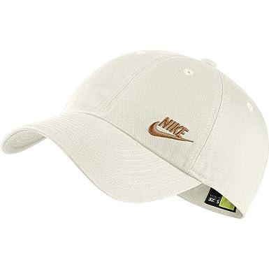 Nike Sportswear Heritage86 Futura Gorra Mujer Beige Ajustable: Amazon.es: Ropa y accesorios