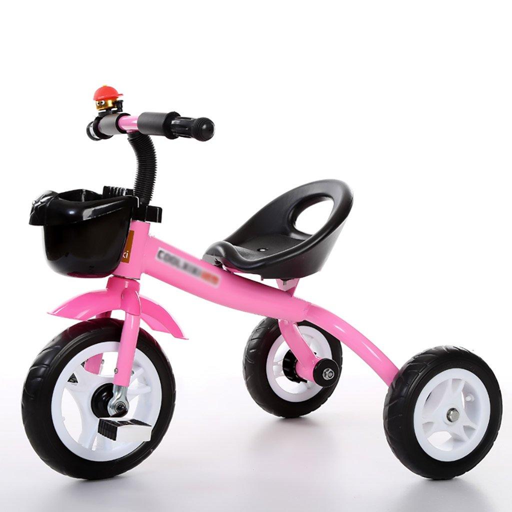 子供用トライク、三輪車の乗り物バイク、赤ちゃんの滑り自転車、おもちゃの自転車、自転車の子供、フットペダルの3つの車輪 (色 : C) B07DVMKNPTC