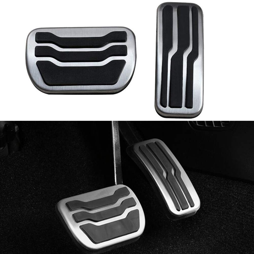 Automatic Transmission LIUYE Gas Brake Pedal Cover for Lincoln MKZ Ford Fusion//Mondeo at