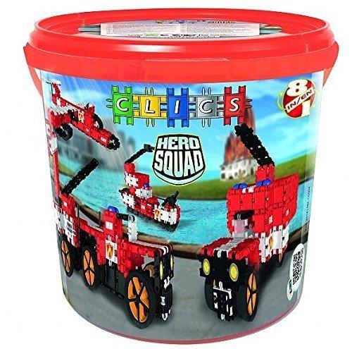 60% de descuento Clics 8-in-1 Hero Hero Hero Squad Fire Brigade Drum by Clics  100% garantía genuina de contador