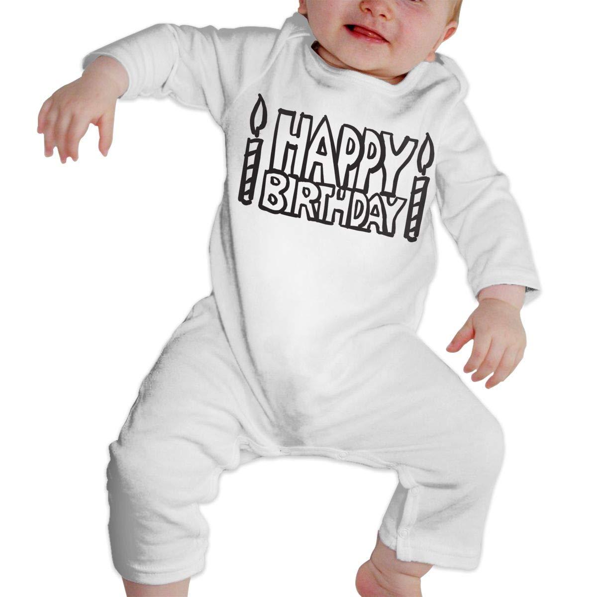 nordic runes Happy Birthday Baby Onesies Toddler Baby Girl//Boy Unisex Clothes Romper Jumpsuit Bodysuit One Piece