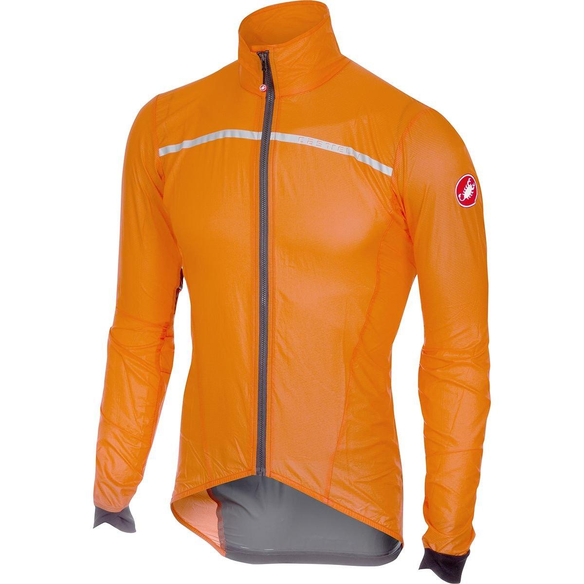 Castelli Superleggera Jacket - Men's Orange, XL