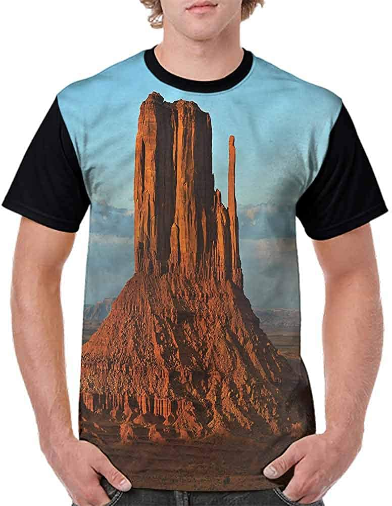 Vintage T-Shirt,Monument Valley America Fashion Personality Customization
