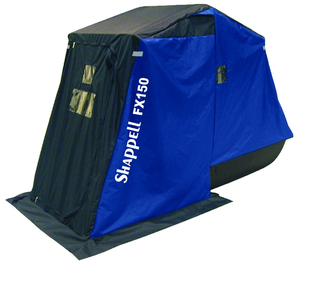 Shappell One Man Flip Ice Shelter by Shappell