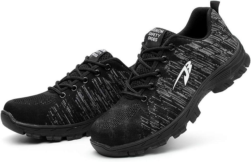 Zapatos de Seguridad para Hombres Zapatos de Acero con Punta de ...