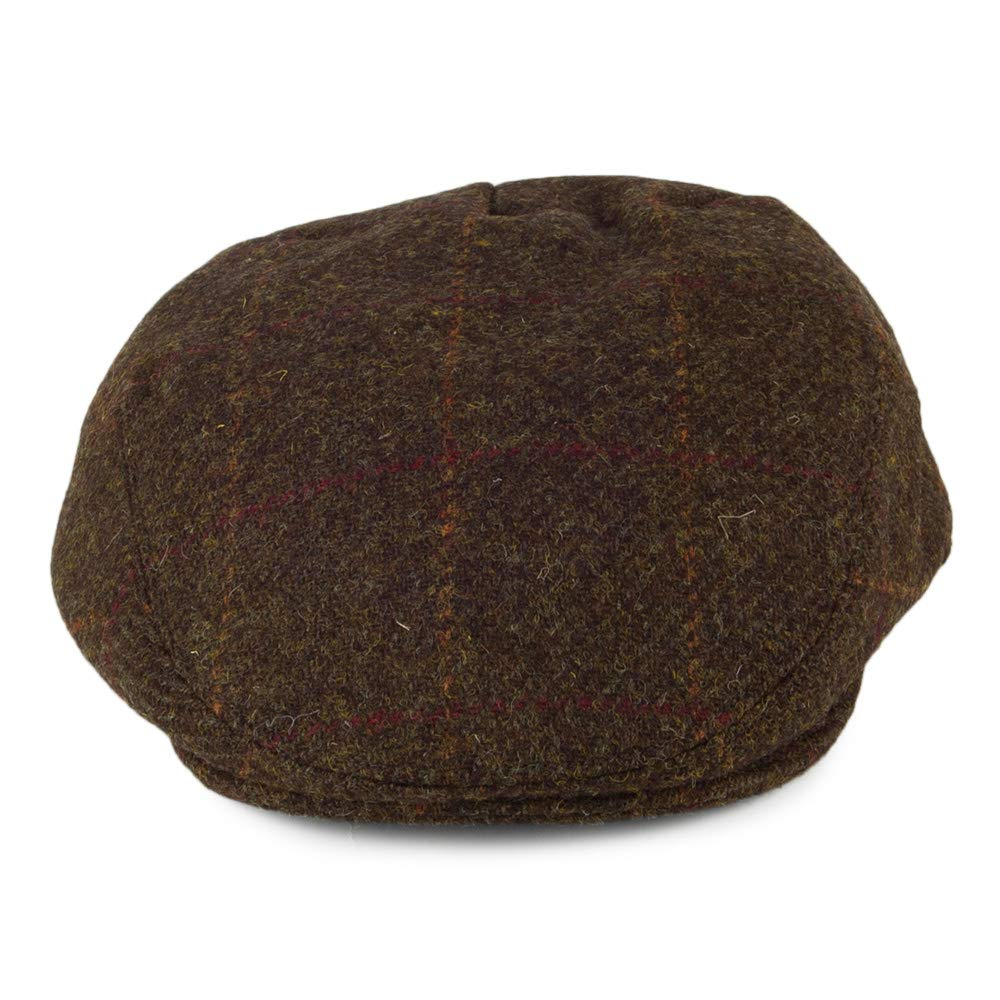 Failsworth Gorra Plana Stornoway de Tweed Harris a Cuadros Turba ...
