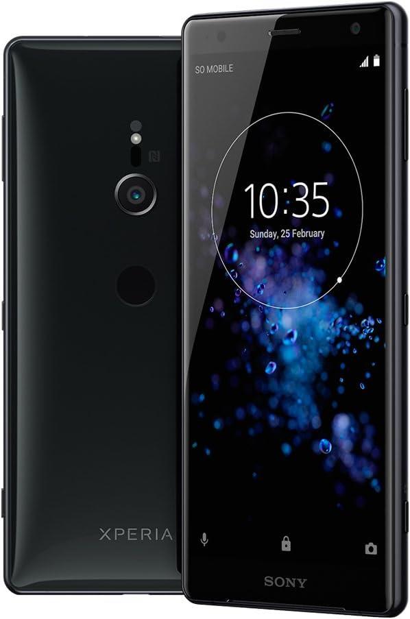 Sony Xperia XZ2 Smartphone (14,5 cm (5,7 Pulgadas) Pantalla IPS Full HD +, 64 GB de Memoria Interna y 4 GB de Memoria, Single SIM, IP68, Android 8.0) Liquid Black – Versión Alemana: Amazon.es: Electrónica
