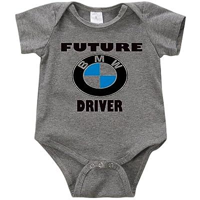 Anicelook Future BMW Driver Unisex Funny Romper Onesie Creeper