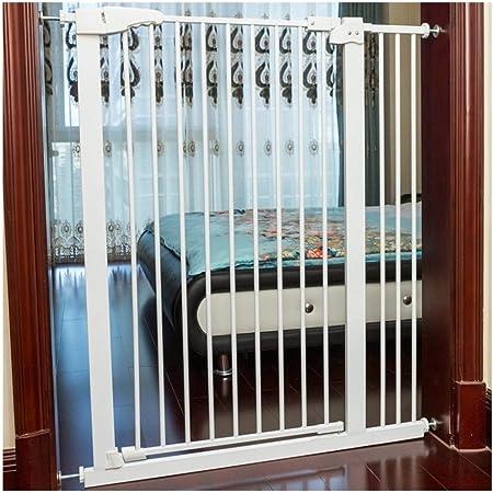 Barreras de puerta Baby Gates Safety Gate Fence Rail Guardias Barandilla Escalera Valla Valla De Seguridad