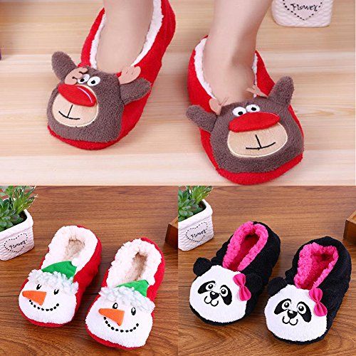 CHIC*MALL Cute Anti - skid Shoes Autumn and Winter Indoor Cotton Slippers C dacCQBoU