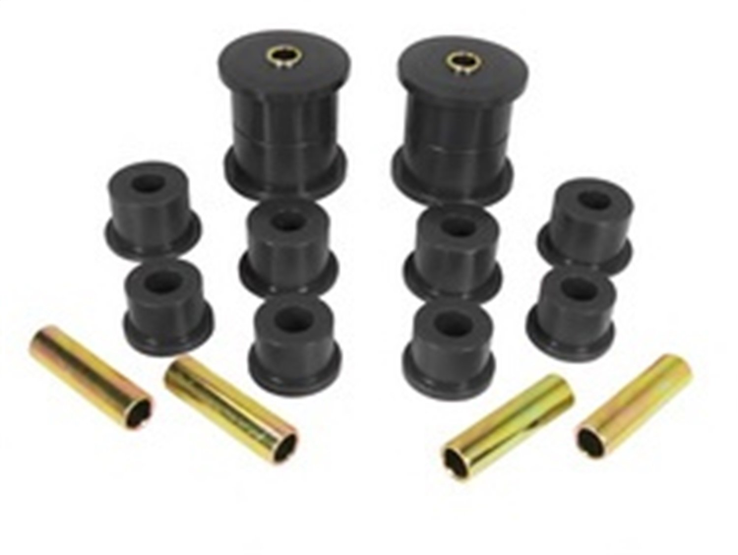 Rugged Ridge 1-1007BL Black Rear Leaf Spring Bushing Kit Omix-Ada