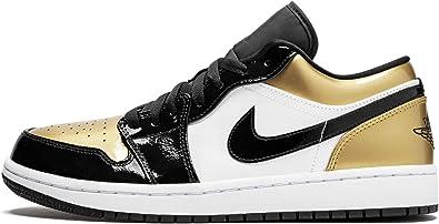 Jordan Air 1 Low (Black/Gold-Black 8