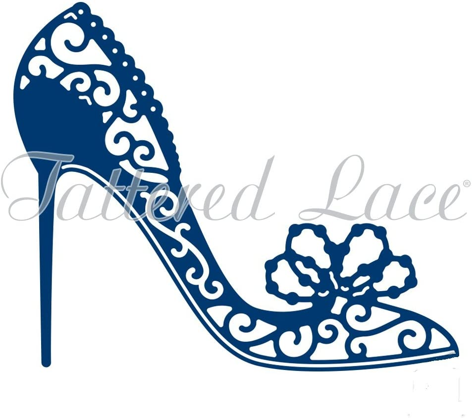 High Heeled Shoes  ~By Tattered Lace Die Cut Toppers ~ Pack Of 14