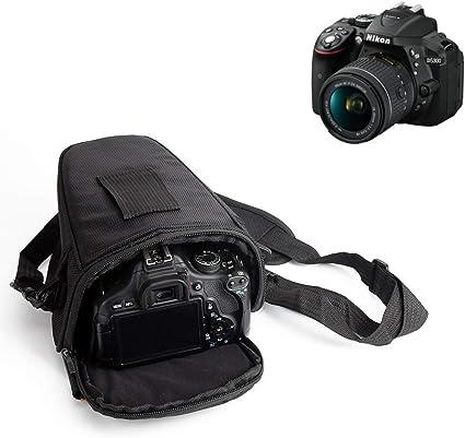 K-S-Trade para Nikon D3500: Bolsa per Camera DSLR/SLR/DSLM/Bridge ...