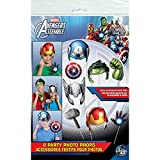 Marvel Avengers Photo Booth Props, 8pc
