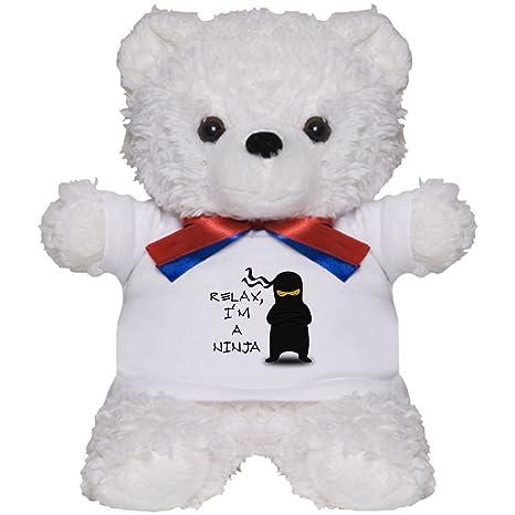 Amazon.com: CafePress - Relax, Im A Ninja - Teddy Bear ...