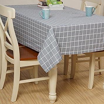 GS~LY Ausstattung/gesund/Warm/Japanischer Garten Gitter Baumwolle Und  Leinen Tischdecken