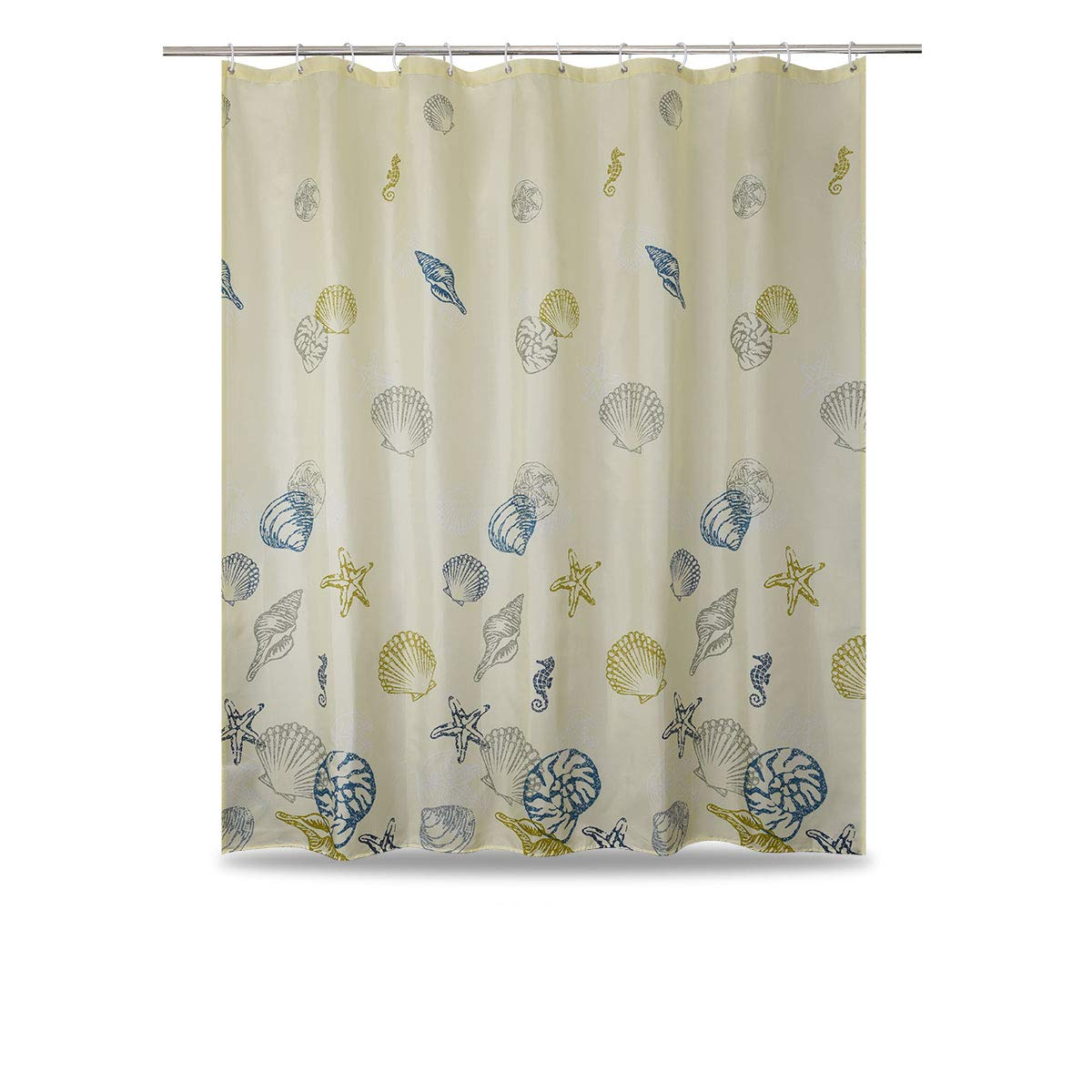 WUFAY Black Fabric Shower Curtain 2018 New White And Abstract Set For Home