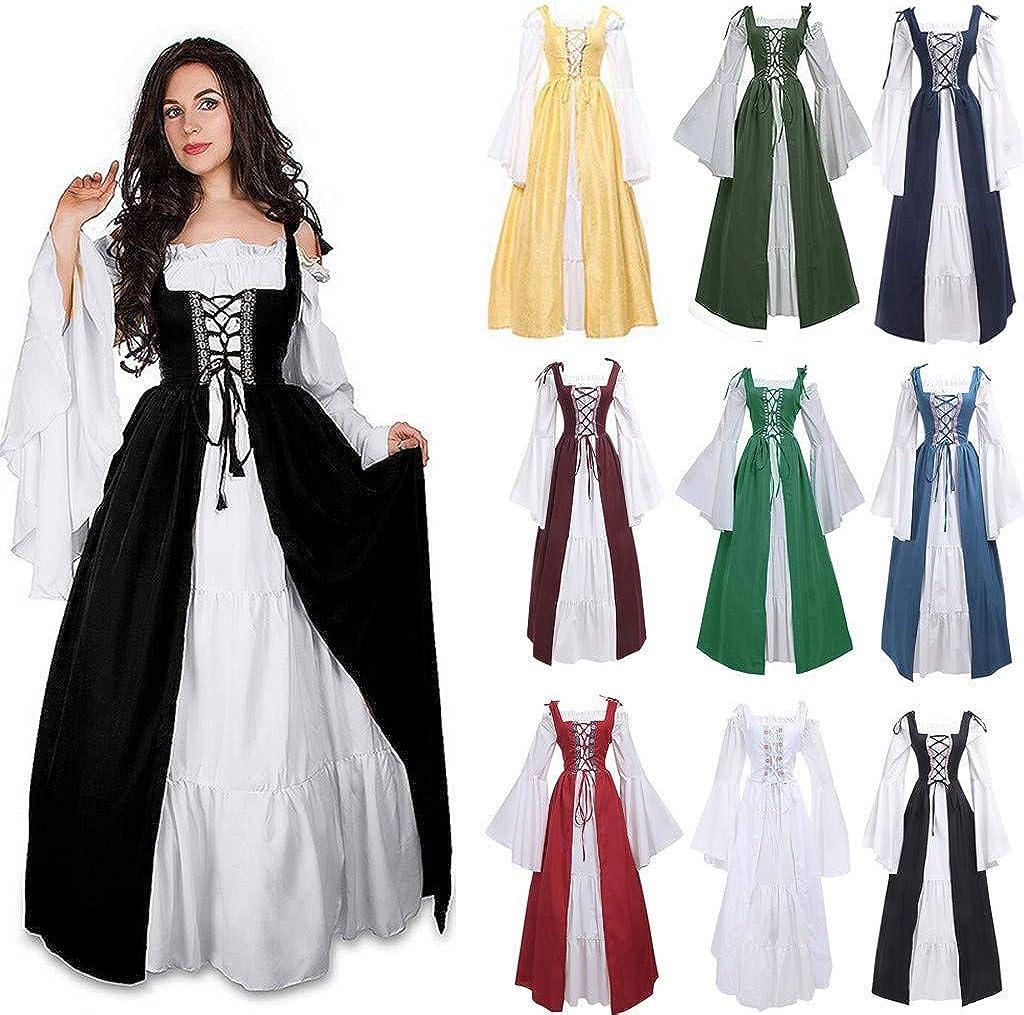 Amazon.com: Disfraz de renacentista para mujer, vestido de ...