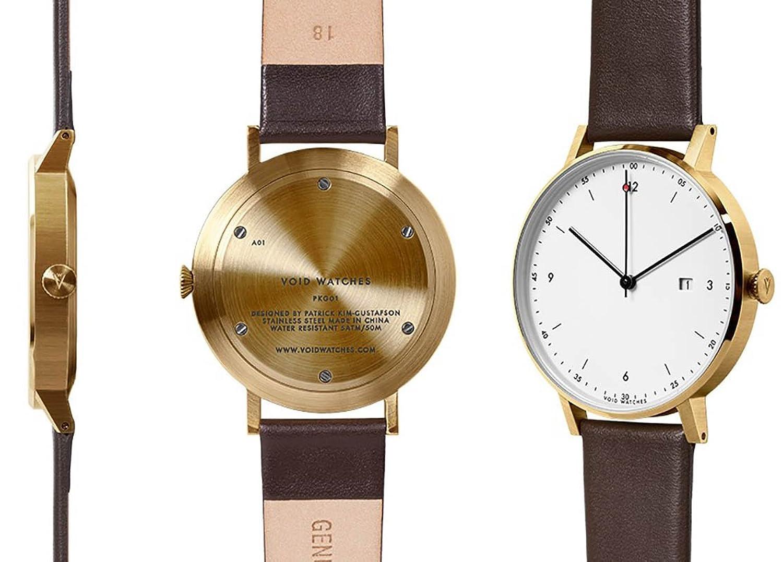 VOID Watch - PKG01 - Gold-Brown-White