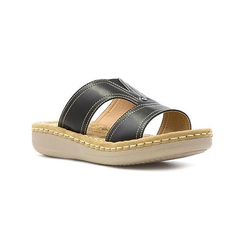 Heavenly Feet Sandali Donna, Nero