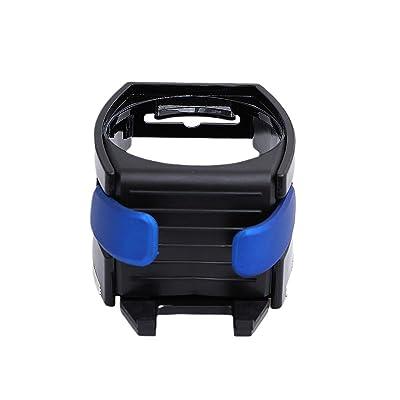 VORCOOL Car Mount Holder Adjusting Hook Water Bottle Holder Air Vent Phone Holder Bracket (Blue): Automotive