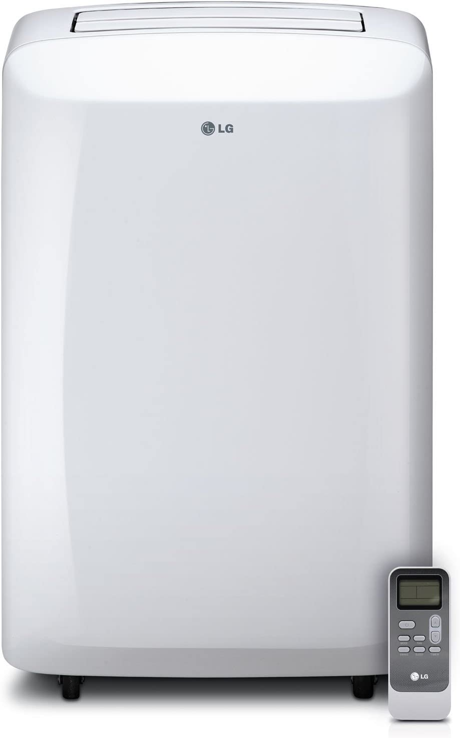 Rooms up to 200-Sq Renewed White LG Portable 115V Air Conditioner Ft