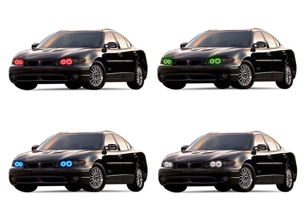 201e830f3cde4 Amazon.com: FLASHTECH for Pontiac Grand Prix 97-03 Green Single ...