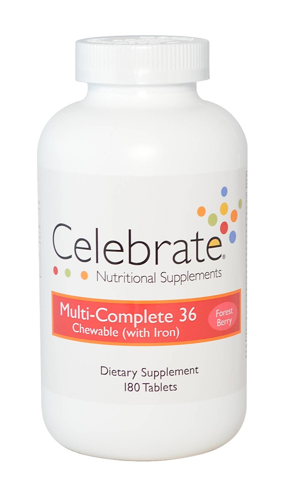 Celebrate Multi-complete w/ Iron Forest Berry 180 count