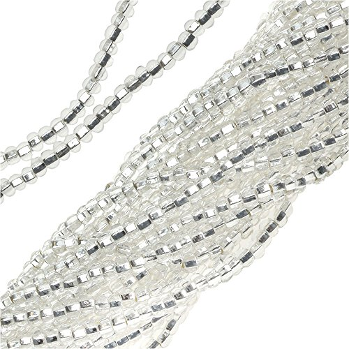 czech-seed-beads-11-0-crystal-silver-foil-lined-1-hank-4000-beads