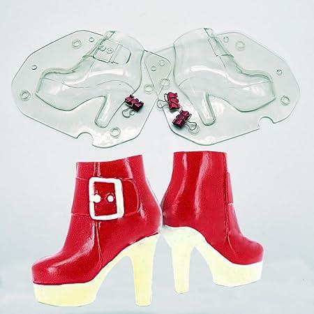 hunpta - Molde 3D de Tacón Alto para Zapatos de Chocolate, Dulces ...