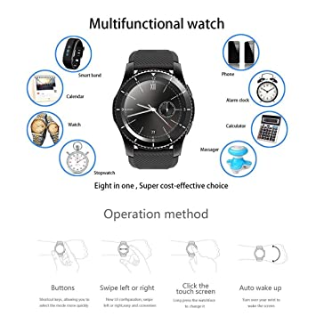 fghdfdhfdgjhh Fit No.1 G8 SmartWatch Bluetooth 4.0 MTK2502 ...