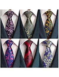 8cd70f8814b9 Men's Necktie Classic Silk Tie Woven Jacquard Neck Ties 6/9 / 12 PCS