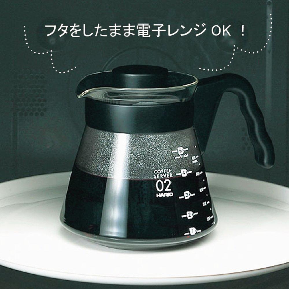 Jarra De Vidro Para Servir Caf Hario Vcs 03b Transparente 1 L V60 Coffee Server Kit Vcsd 02 R Cozinha