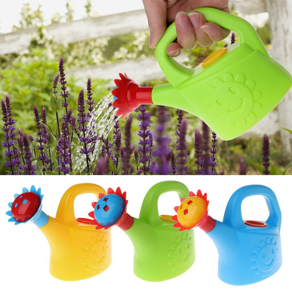 Tandou La maison mignonne de bande dessin/ée arrosant peut pulv/ériser la bouteille arrosent le jouet de bain de plage denfants