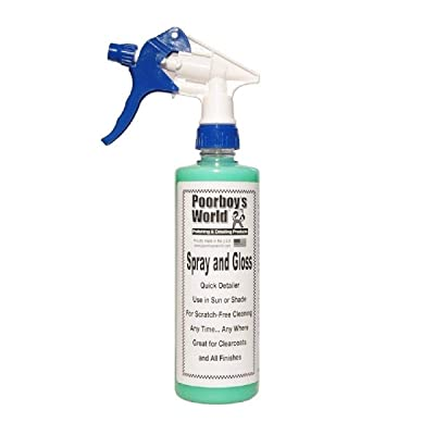 Poorboy's World Spray and Gloss 16oz w/Sprayer: Automotive