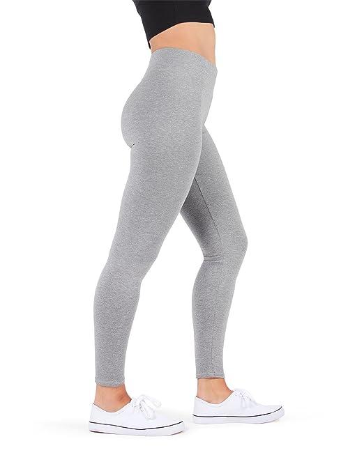 MeMoi - Leggings para entrenamiento de yoga para mujer, de algodón y rayón