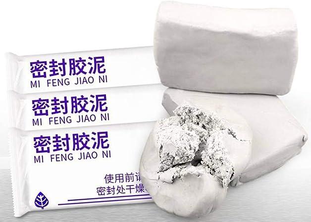 And Mastic pour climatisation imperm/éable p/âte /à Modeler Trou bouch/é Trou de Souris Mur r/éparation de largile Boue Ignifuge//Emballage Random Hair 5 Packs