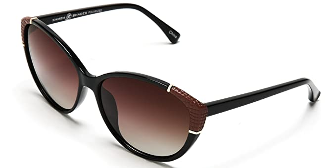 Amazon.com: Samba Shades Women\'s Polarized Marilyn\'s Cat Eye Fashion ...