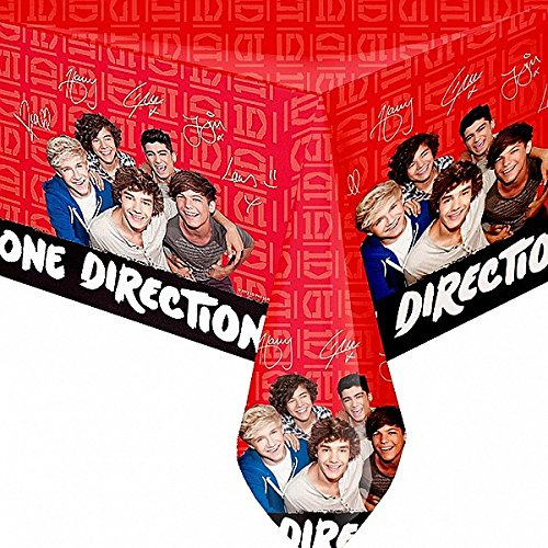 One Direction '1D' Party Accessories Brands Tablecover Plastic