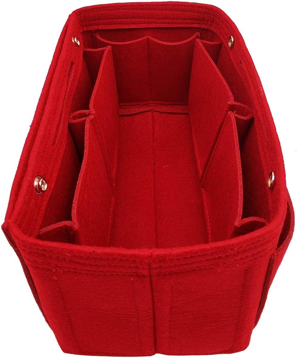 Felt Purse Organizer Insert Bag organizer Multi Pocket Bag in Bag Organizer Shaper