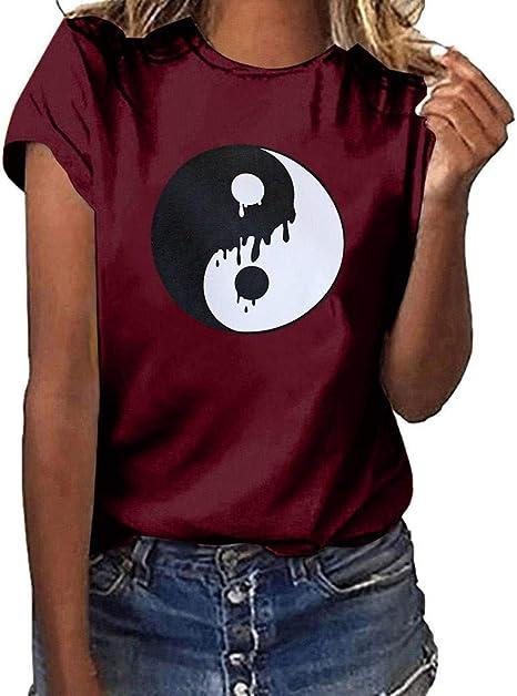 Keepwin ¡Nueva! Mujer Camisa Algodón Blusa Mujer Elegante Manga ...