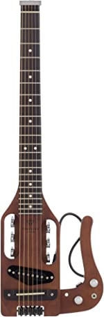 Traveler Guitar 6 String Pro-Series (Antique Brown), Right, (PS ABNS)