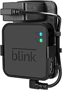 Outlet Wall Mount for Blink Sync Module,Simple Mount Bracket Holder for Blink XT2 and Blink XT Outdoor and Indoor Home Security Camera with Easy Mount Short Cable and No Messy Wires or Screws