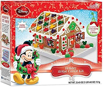 Mickey Holiday House Cookie Kit