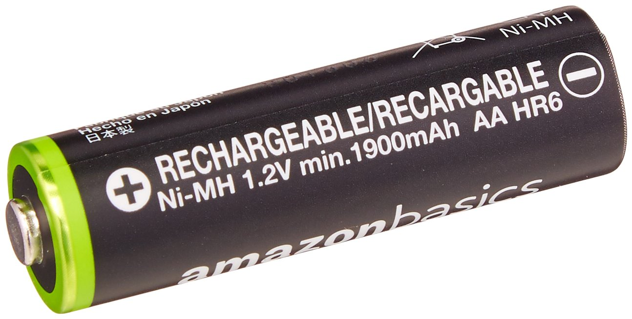 and Ni-MH AA /& AAA Battery Charger With USB Port Set Basics AAA High-Capacity Rechargeable Batteries 8-Pack