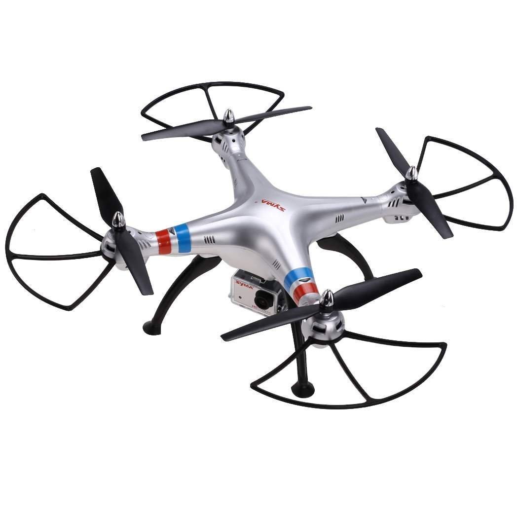 Syma X8G RC Quadcopter Drone con caja de funda de transporte de ...