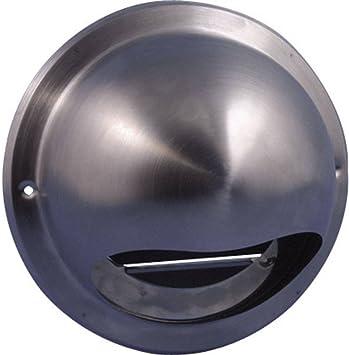 Wallair N34835 - Campana extractora de acero inoxidable para tubo de 10 cm de diámetro: Amazon.es: Electrónica