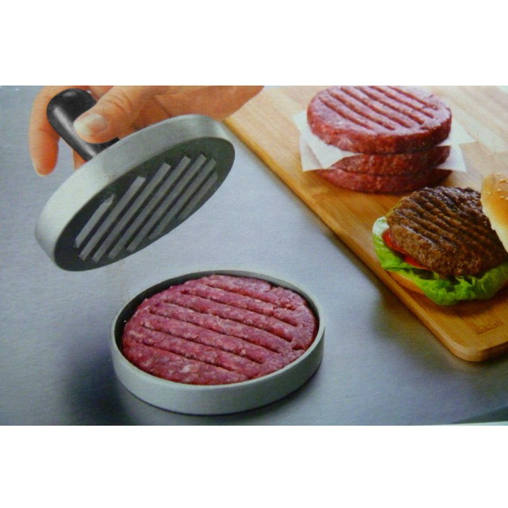MAZIMARK--Hamburger Patties Maker Burger Hamburger Press Meat Press Kitchen Cook Gadget